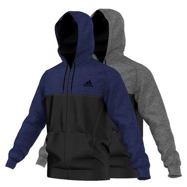 adidas Team Issue Full Zip Hooded Jacket