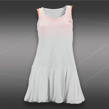 Lotto Nixia Tennis Dress-White/Carrot