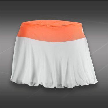 Lotto Nixia Tennis Skirt-White/Carrot