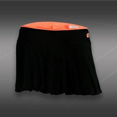 Lotto Nixia Tennis Skirt-Black/Carrot