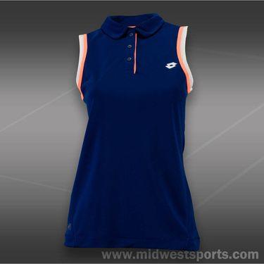 Lotto Shela Sleeveless Polo- China Blue