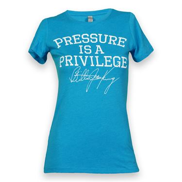Love All Pressure Is A Privilege Vintage T-Shirt - Turquoise