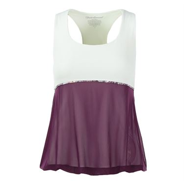 Denise Cronwall Mulberry Racerback Top - Purple