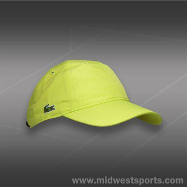 Lacoste Classic Poly Sport Hat-Lime Green