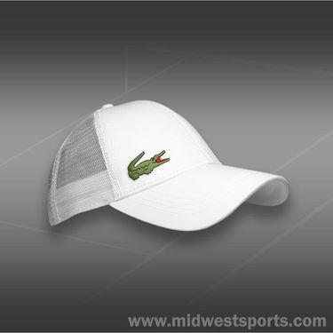Lacoste Sport Trucker Hat-White