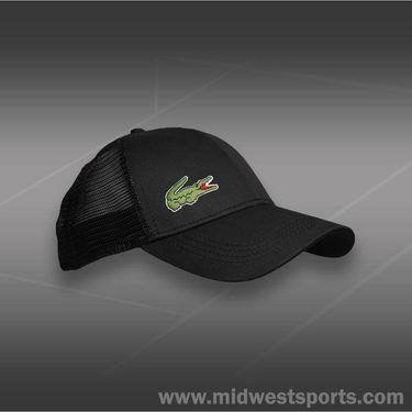 Lacoste Sport Trucker Hat-Black