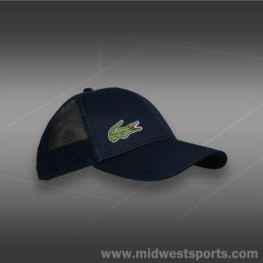 Lacoste Trucker Hat-Navy