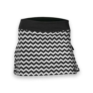 AdEdge Woven Chevron Skirt - Black