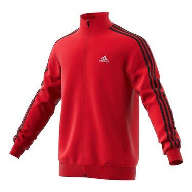 adidas Essential Track Jacket - Scarlet/Black