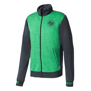 adidas Roland Garros Jacket - Grey/Core Green