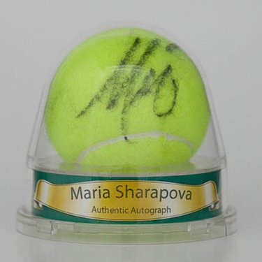 Maria Sharapova Autographed Ball