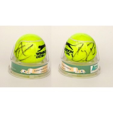 Signed Ball - Roger Federer & Rafael Nadal