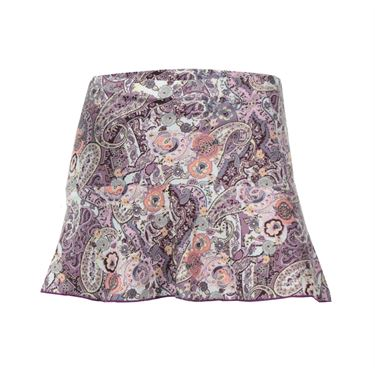 Denise Cronwall Mulberry Printed Skirt