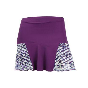 Denise Cronwall Mosaic Grace Skirt - Violet