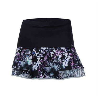Denise Cronwall Vivid Dark Steffi Skirt - Black