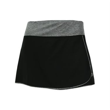 Prince Stretch Woven Skirt - Black/Grey Heather