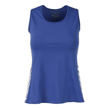 Denise Cronwall Nordica Tank - Blue