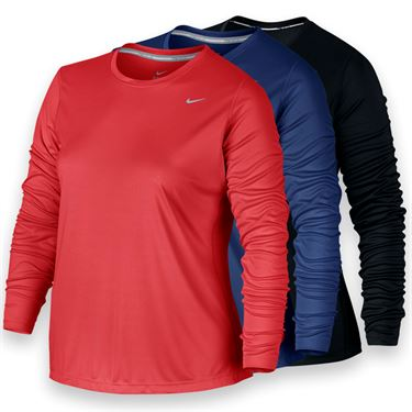 Nike Plus Size Miler Long Sleeve