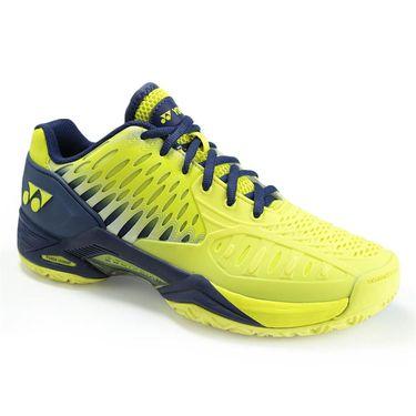 Yonex Power Cushion Eclipsion All Court Mens Tennis Shoe - Yellow/Navy STEYN