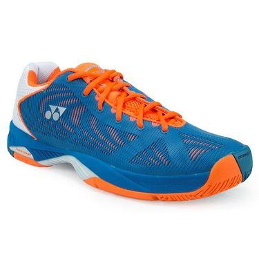 Yonex Power Cushion Fusion Rev Mens Tennis Shoe - Blue/Orange