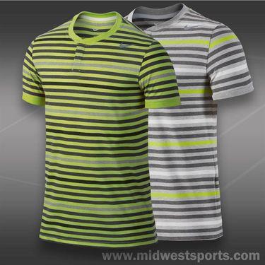 Nike Dri Fit Touch Stripe Henley