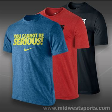 Nike You Cannot Be Serious T-Shirt- Black