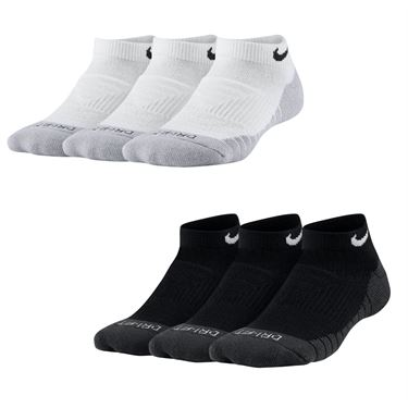 Nike Youth Dry Cushion No Show Sock 3 Pack