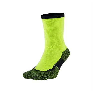 Nike Elite Crew Sock - Volt/Black