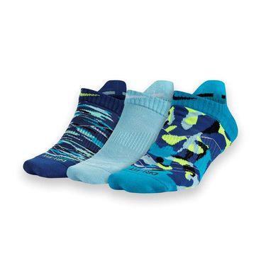 Nike Dri Fit Graphic Tab Sock - Blue