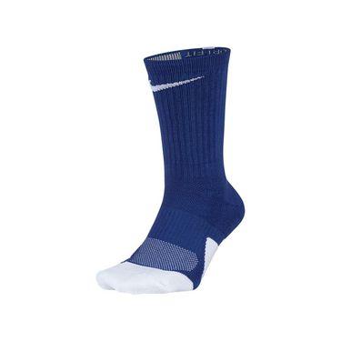 Nike Elite 1.5 Crew Sock Unisex - Game Royal/White