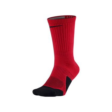 Nike Dry Elite 1.5 Crew Sock - University Red/Black