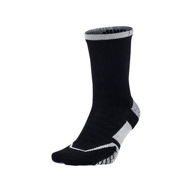 Nike Grip Elite Crew Tennis Sock - Black