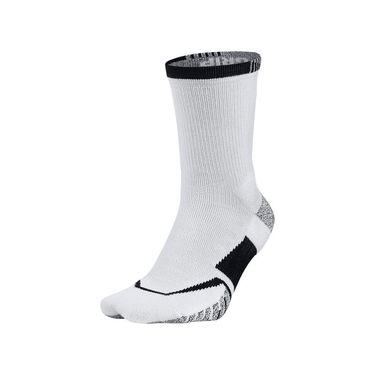 Nike Grip Elite Crew Tennis Sock - White