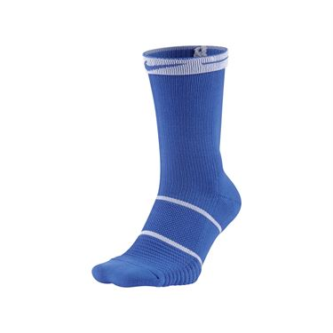 Nike Court Essentials Crew Tennis Sock - Game Royal/White