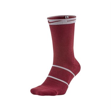 Nike Court Essentials Crew Tennis Sock - Team Red/Black