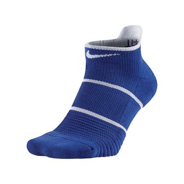 Nike Court Essentials No Show Tennis Sock- Game Royal/White