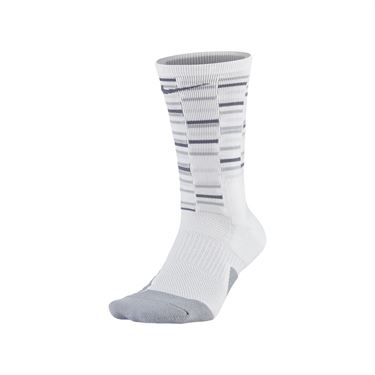 Nike Elite Crew Sock - White/Pure Platinum/Light Carbon