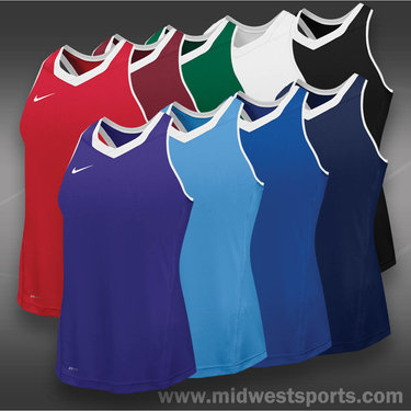 Nike Womens Team Cutback Racerback Jersey