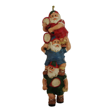 Tennis Santas Christmas Ornament
