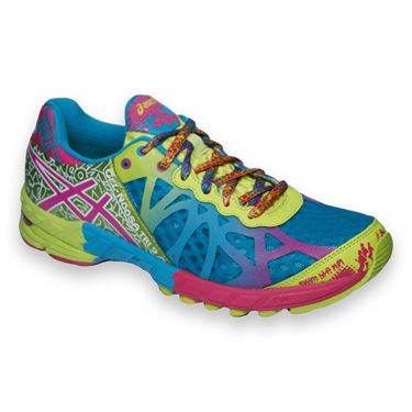 Asics Gel Noosa Tri 9 Womens Running Shoe-Blue/Rasberry, T458N5721