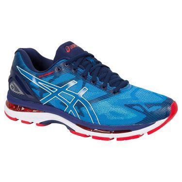 Asics Gel Nimbus 19 Mens Running Shoe - Diva Blue/White/Indigo Blue T700N 4301