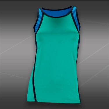 Tail Blue Court Scoop Neck Tank-Sea Glass Green