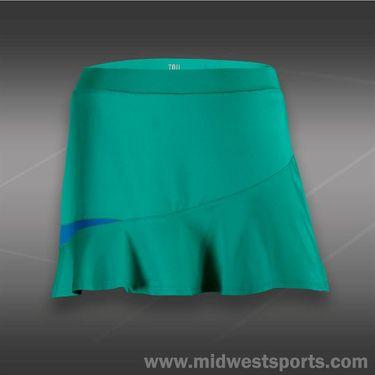 Tail Blue Court Volley Flounce Skirt-Sea Glass Green
