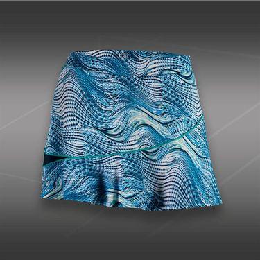 Tail Blue Court Printed Flounce Skirt-Seascape