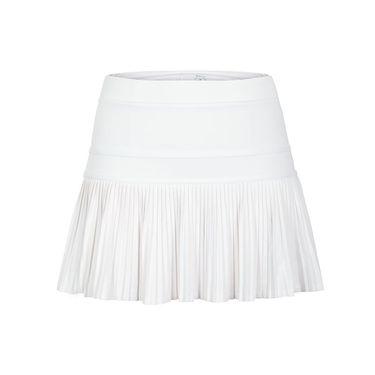 Tail Stargaze Sunburst Pleat Skirt - White