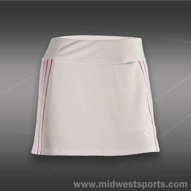 JoFit Lanai Rally Tennis Skirt-White