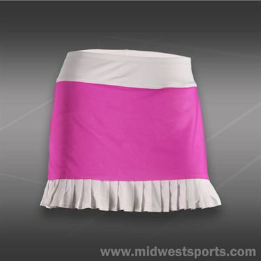 JoFit Lanai Knife Pleat Skirt-Jo Pink