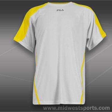 Fila Boys Tennis Crew-White