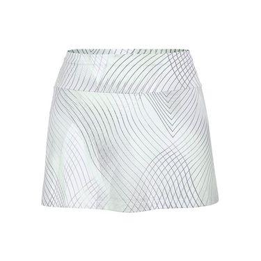 Tail Enchantment Back Pleat Skirt - Honeydew