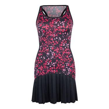Tail Rhapsody Accordian Pleated Dress - Floral Mesh